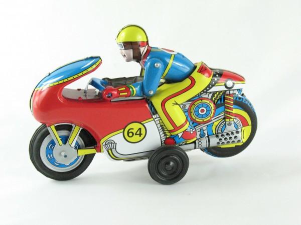 Blechspielzeug - Motorrad - Winner