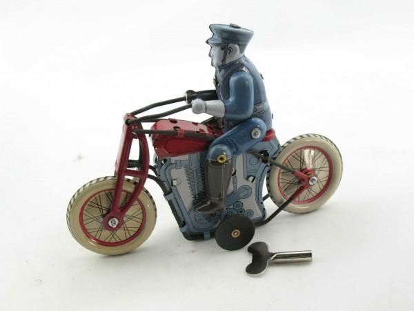 Blechspielzeug - Motorradpolizist