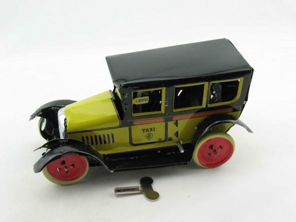 Blechspielzeug - Oldtimer Taxi gelb