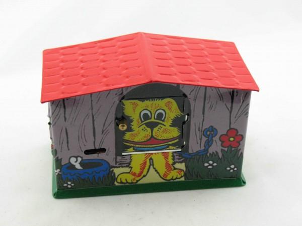 Blechspielzeug - Spardose Hundehütte