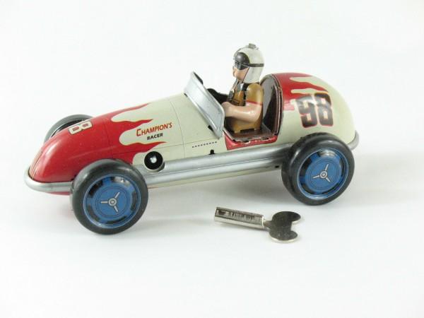 Blechspielzeug - Auto Champion Racer #98 13,5cm, creme