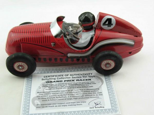 Blechspielzeug - Rennwagen Grand Prix mit Motorengeräusch