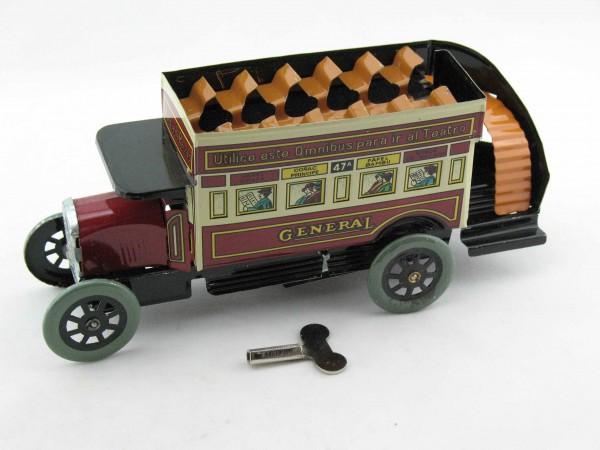 Blechspielzeug - Bus Doppeldecker