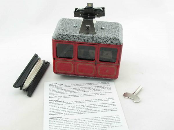 Seilbahn, Gondelbahn - rot von KOVAP - Blechspielzeug