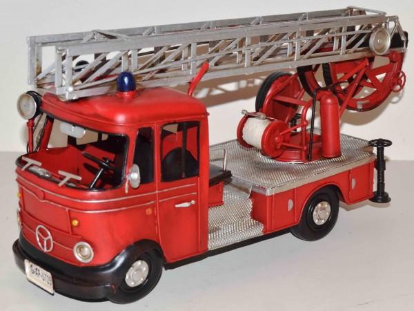 Blechmodell - MB Feuerwehr-Leiterwagen