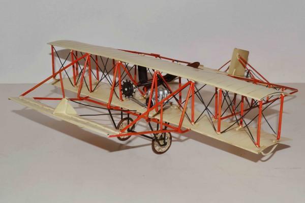 Blechmodell - Flugzeug Gebrüder Wright
