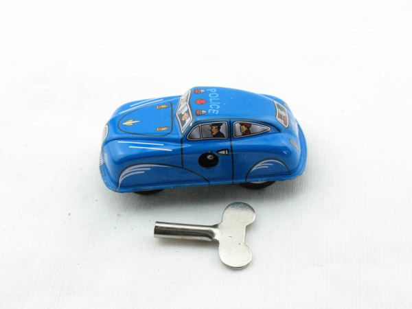 Blechspielzeug - Auto Polizei aus Blech 7cm