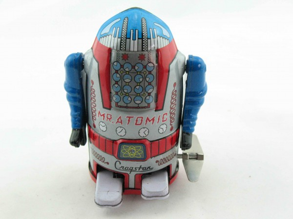 Blechspielzeug - Roboter, Atomic-Robot Space Man