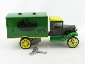 HAWKEYE LKW John Deere mit Uhrwerk von KOVAP - Blechspielzeug
