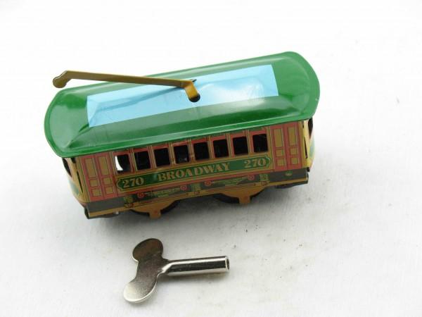 Blechspielzeug - Straßenbahn, Cable Car BROADWAY
