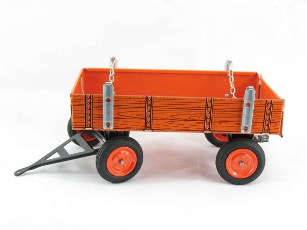 Anhänger orange, für Kubota Traktor, Kovap-Neuheit 2019 – Blechspielzeug
