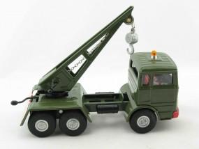 Mercedes LKW Militär Kranwagen von KOVAP - Blechspielzeug