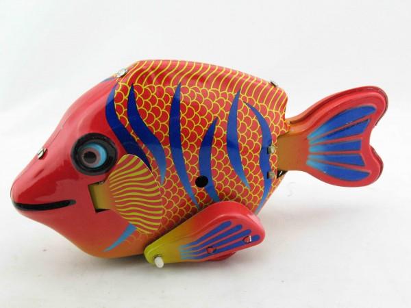 Blechspielzeug - Fisch groß, Happy Fish
