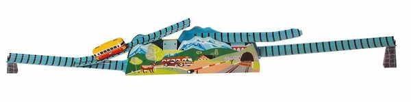 Berg- und Talbahn von KOVAP - Blechspielzeug