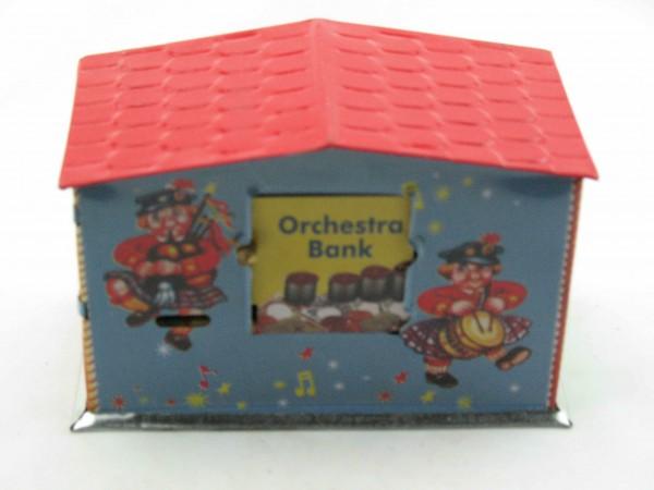 Blechspielzeug - Spardose Orchestra Bank, Orchester