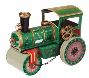 Straßenwalze JUBILÄUMSMODELL 70 JAHRE von KOVAP - Blechspielzeug Neuheit 2016