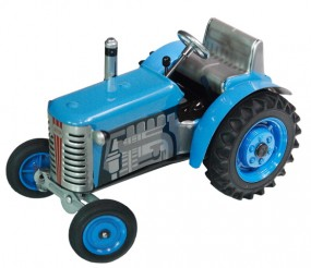Traktor Zetor blau, Neuheit 2015, von KOVAP - Blechspielzeug