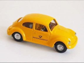 VW Käfer DEUTSCHE POST, CKO Replica von KOVAP - Blechspielzeug