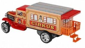 Hawkeye LKW Zirkus-Wohnmobil mit Uhrwerk von KOVAP - Blechspielzeug