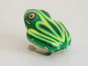 Blechspielzeug - Blechfrosch groß