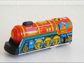 Blechspielzeug - Dampflok Overland Express