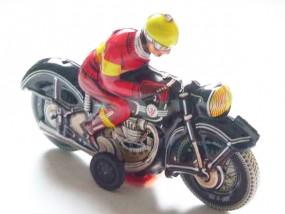 Blechspielzeug - Motorrad schwarz Deutschland