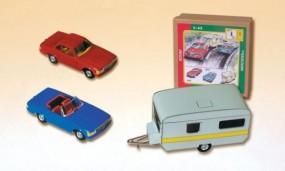 Mercedes Set, 3teilig von KOVAP - Blechspielzeug