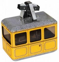Seilbahn, Gondelbahn - gelb von KOVAP - Blechspielzeug