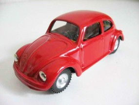 VW Käfer, rot, CKO Replica von KOVAP - Blechspielzeug